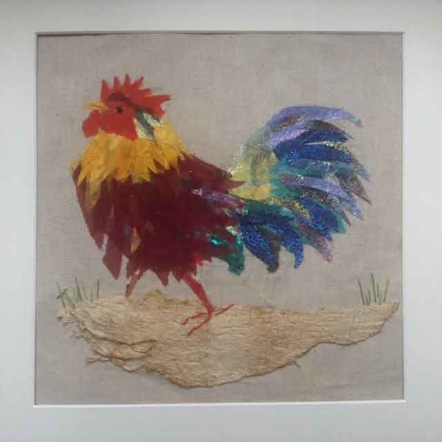 Running Rooster