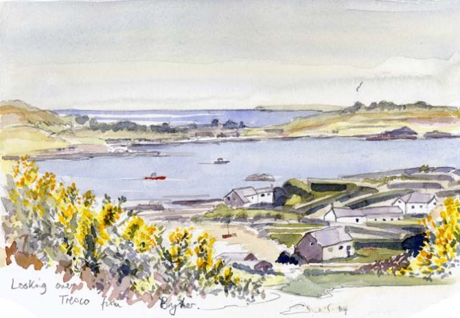 From Bryher to Tresco