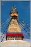 THE GREAT STUPA OF BOUDHANATH