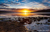 SUNRISE OVER LAMLASH BAY