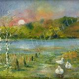 Coniston - Evening in Autumn