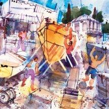 Greek boatyard - Samos