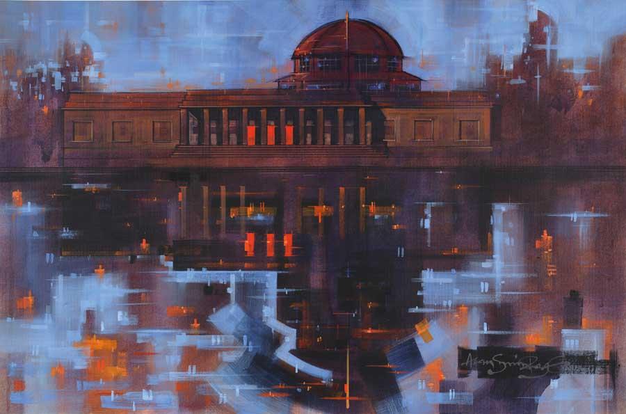 September Dusk - Exhibition Park Newcastle