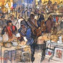 Market day, Tynemouth Metro No.4