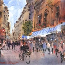 Parisian Street No.2