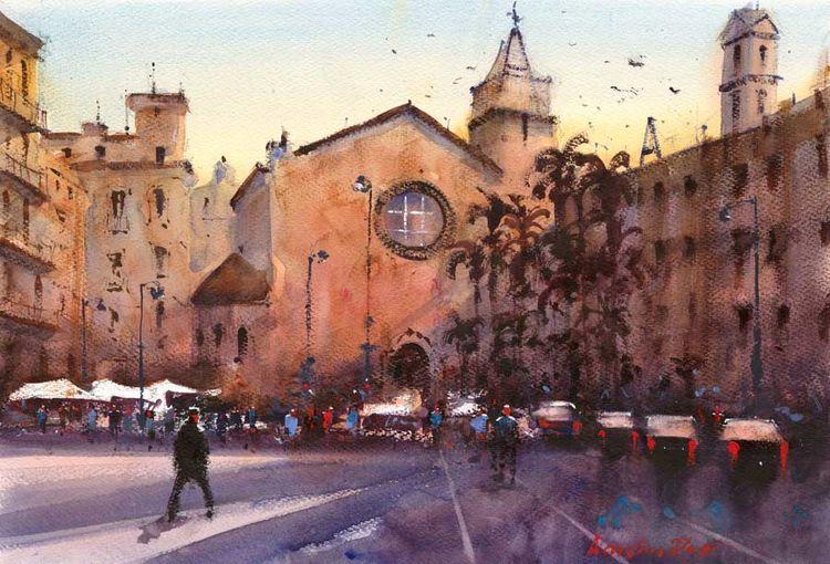 Plaza Santa Susanna, Girona