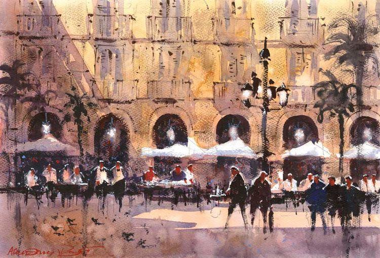 Plaza Resial, Barcelona