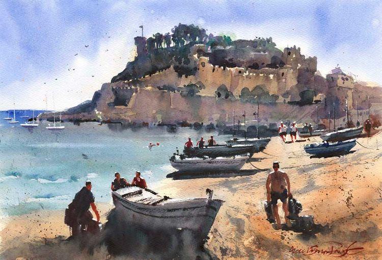 Coastal Fort, Catalonia