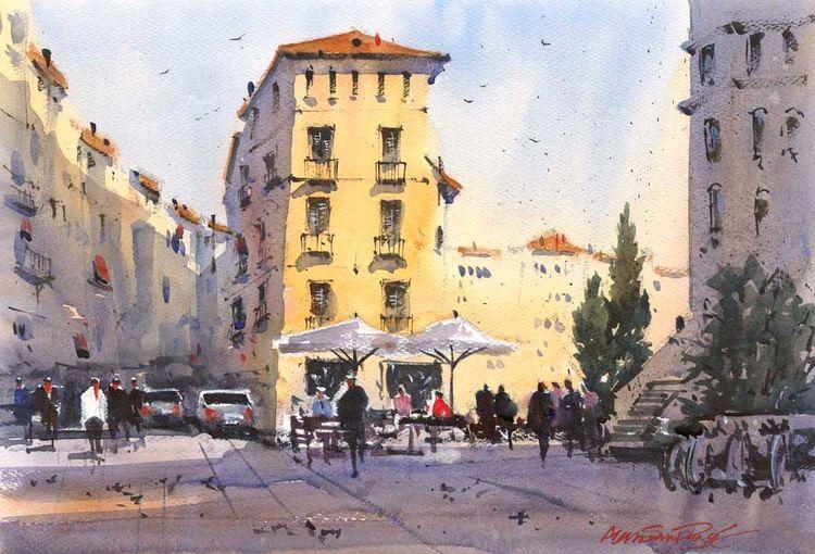 Sunlight and Shadows, Girona