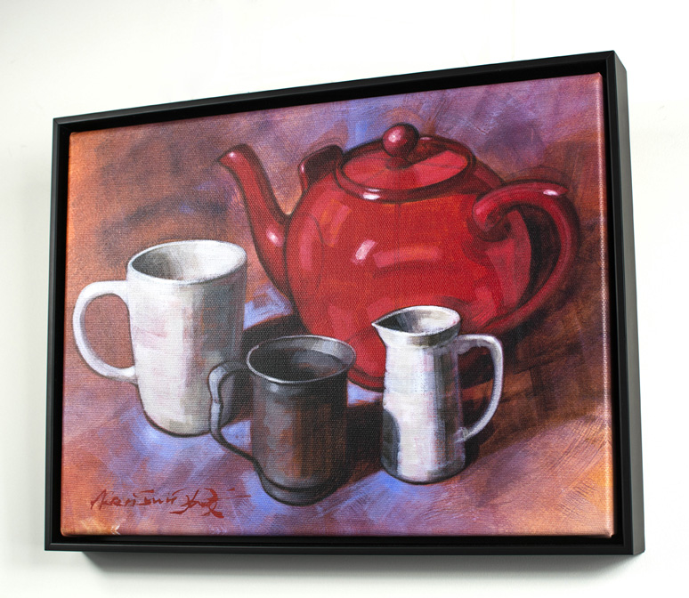 The Red Teapot