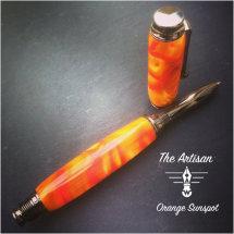 Artisan in Orange Sunspot