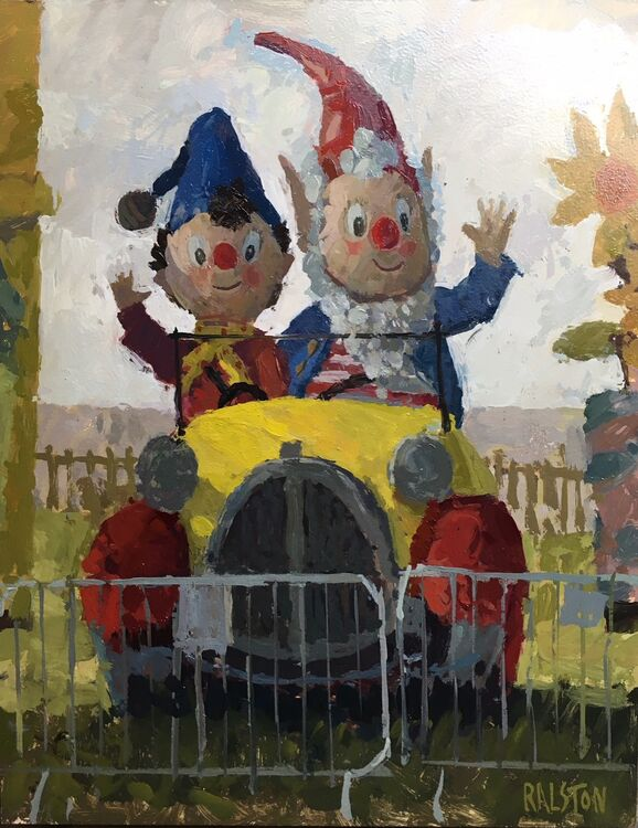 Noddy & Big Ears - Sold