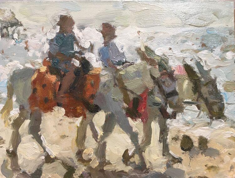Beach Donkeys - Sold