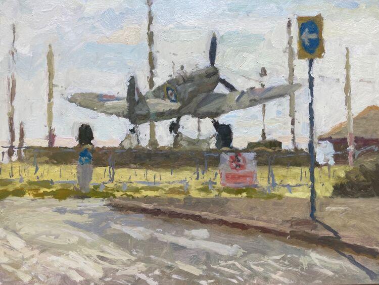 "*NEW Spitfire II (12""x16"") - £695"