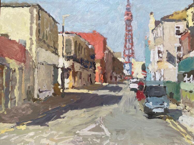 "Foxhall Street (12""x16"") - £695"