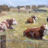 Sitting Cows (10x12) - 450.00