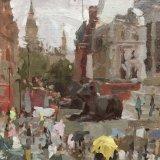 """Trafalgar Square (10""""x8"""") - £350"""