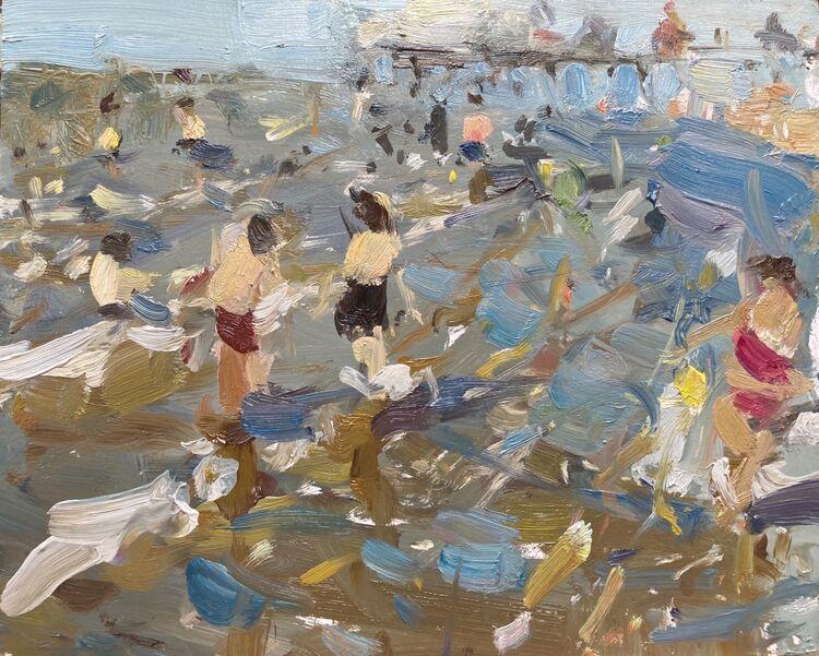 "Making a Splash (8""x10"") - £395"