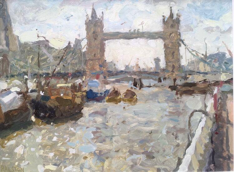 Towards Tower Bridge - Sold