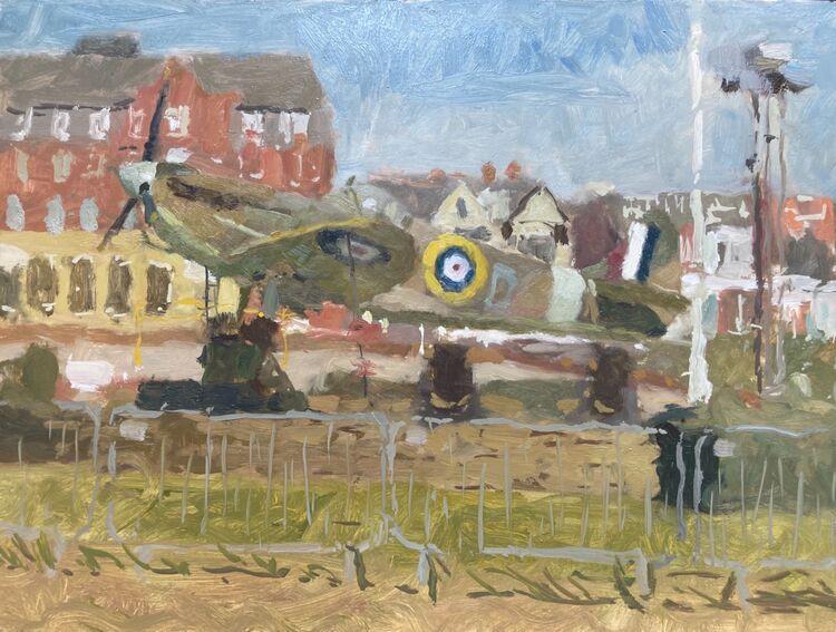"""Spitfire (12""""x16"""") - £750"""