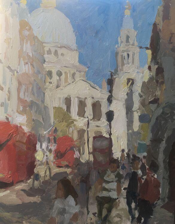 """St.Paul's (14""""x11"""") - £650"""