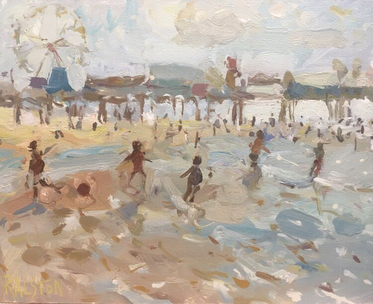 Beach Football - Sold