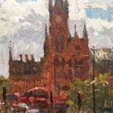 """Kings Cross, St.Pancras (14""""x11"""")"""