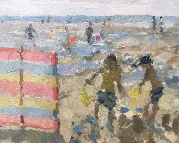 """Sandcastles (8""""x10"""") - £395"""