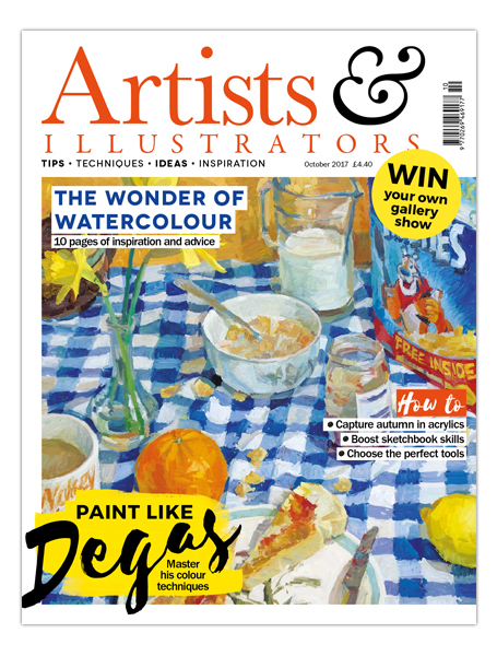 Artists & Illustrators magazine (Oct '17)