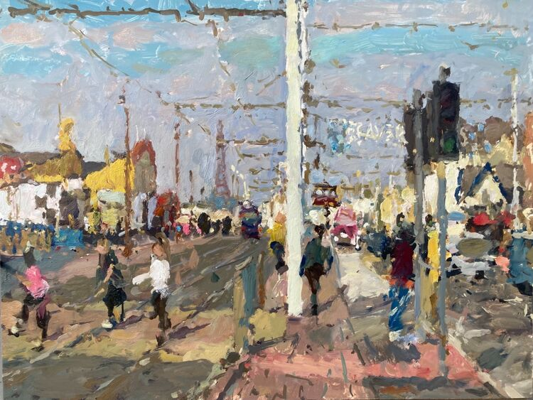 "South Pier Promenade (12""x16"") - £750"