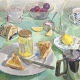 Tea & Toast (20x20) - 895.00