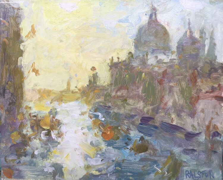 "Accademia Sunrise (10""x12"") £495"