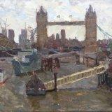 "Tower Bridge from London Bridge (11""x14"") - £495"
