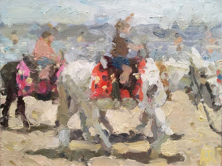 Beach Donkeys - Sold