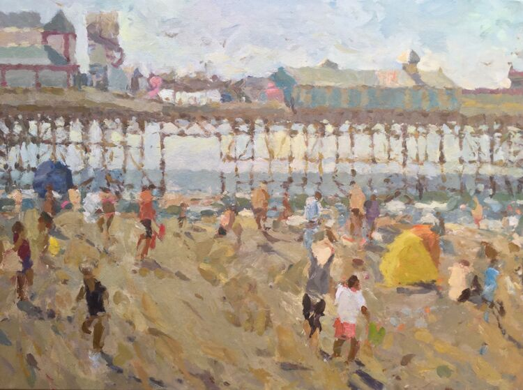 "Summer Holidays (30""x40"") £2450"