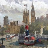"""Tattershall Castle and Westminster (11""""x14"""") - £495"""