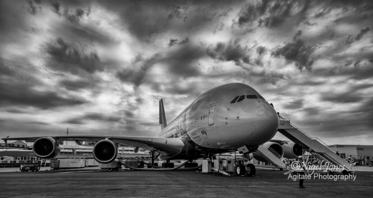 A380 at Farnborough