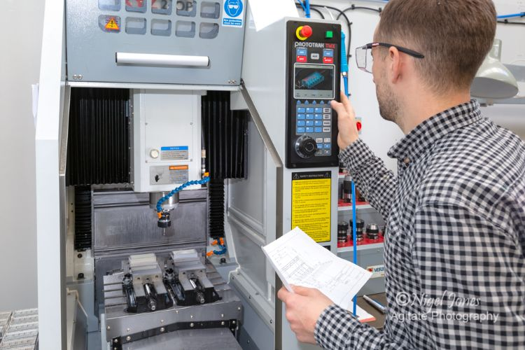 Karpas Engineering and its XYZ 2-OP machining centre
