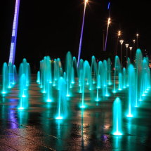 seafront lights