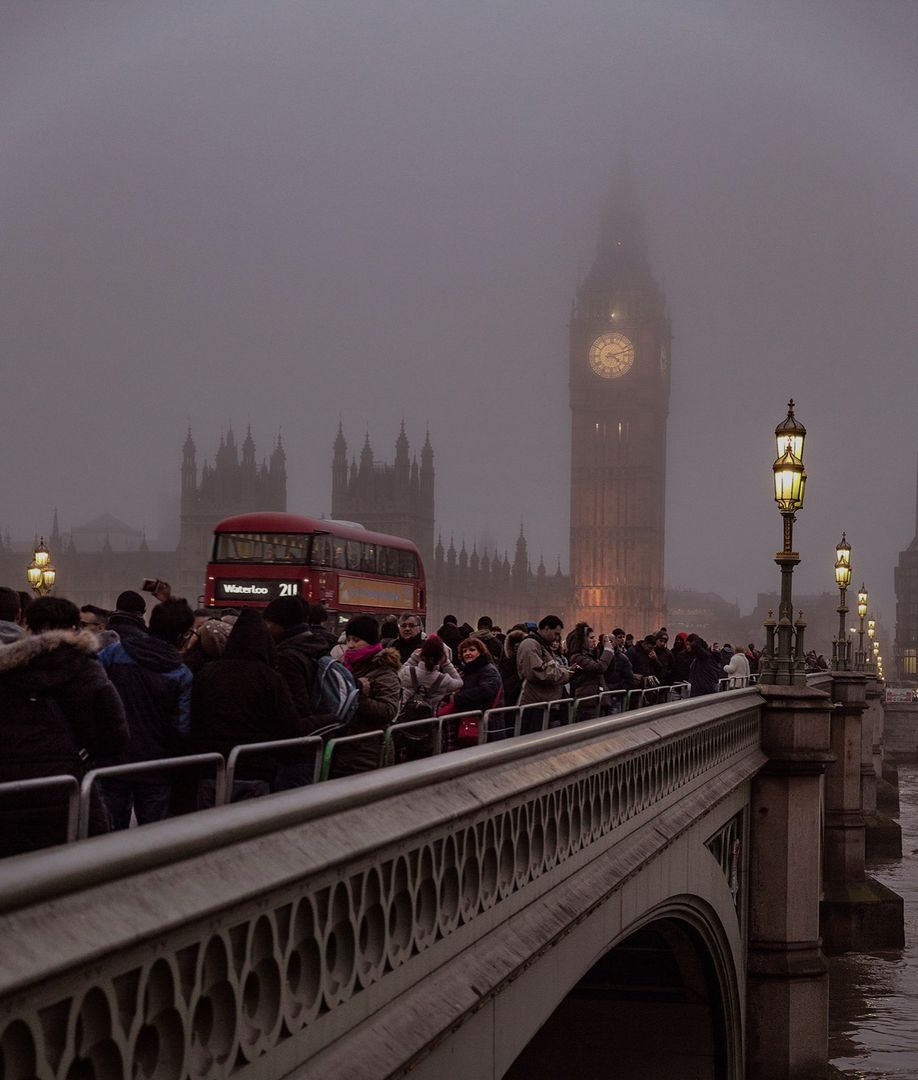 Foggy London Town