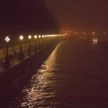 Foggy Thameside