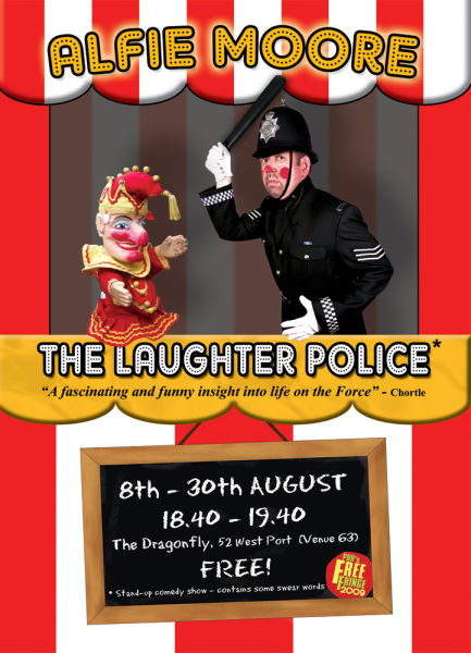 Alfie Moore - Laughter Police