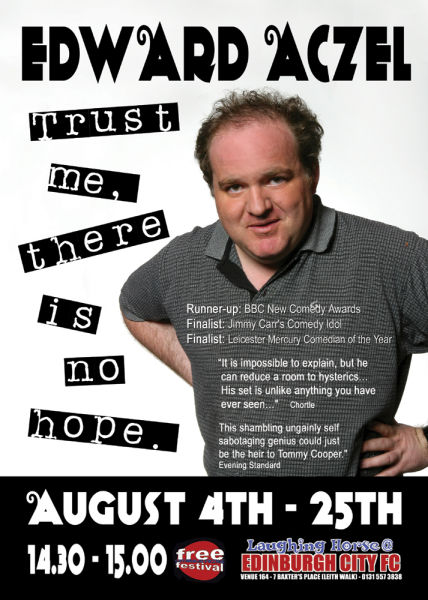 Edward Aczel - trust Me, There Is No Hope