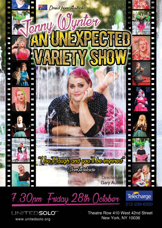 Jenny Wynter - An Unexpected Variety Show