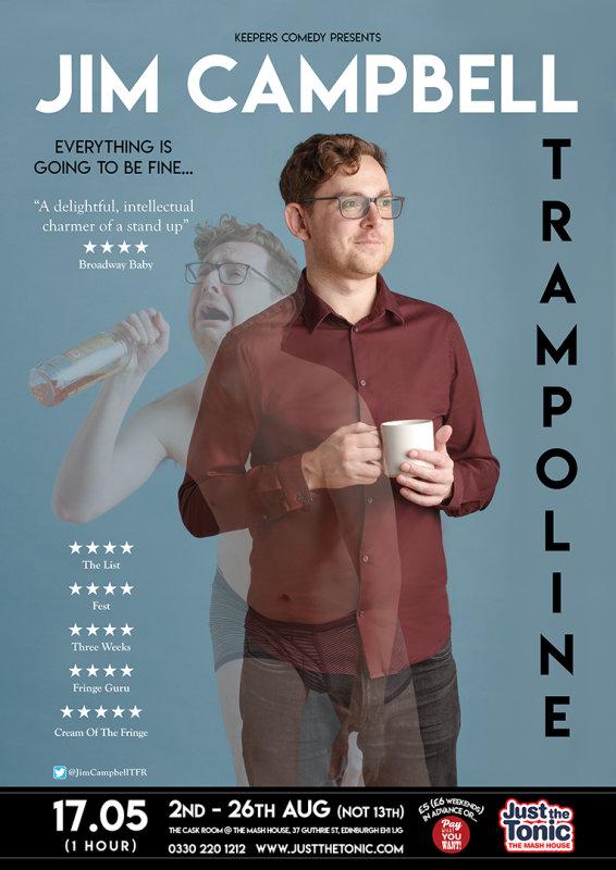 Jim Campbell - Edinburgh Fringe 2018