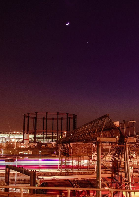 King's Cross at night