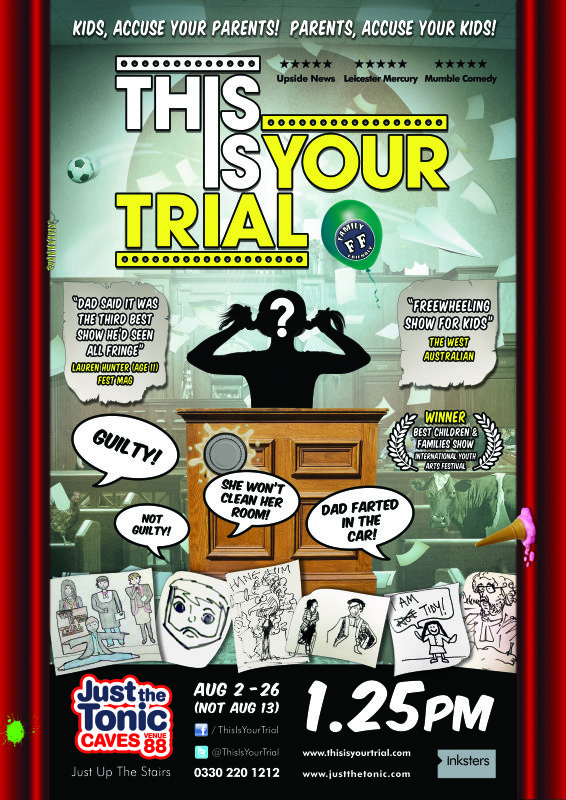 This Is Your Trial - Edinburgh Fringe 2018