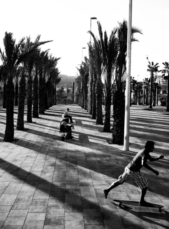 Long afternoon, Barcelona