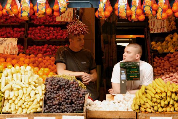 Fruiterers, Budapest