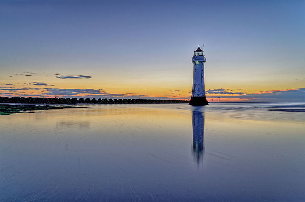 Perch Rock HDR